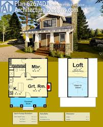 home plan design 700 sq ft plan 62674dj petite northwest bungalow bungalow square feet
