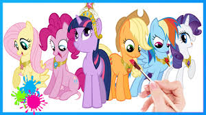 my little pony coloring book friendship is magic coloring pages