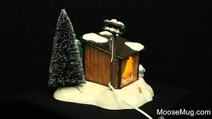 department 56 vacation snow griswold sled shack