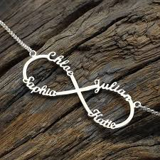 Sterling Silver Personalized Necklaces 98 Best Jewelry Images On Pinterest Jewelry Infinity Jewelry