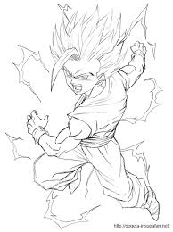 dragon ball 92 cartoons u2013 printable coloring pages