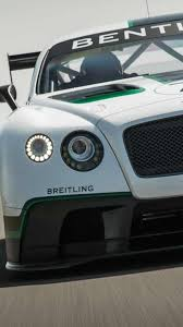 bentley supercar bentley continental gt3 introduced at goodwood fos video