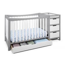 crib with changing table burlington nursery decors furnitures crib and changing table combo black