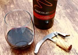 Chocolate Shop Wine Diy Burlap Wine Gift Bag And Chocolate Wine Mom 4 Real