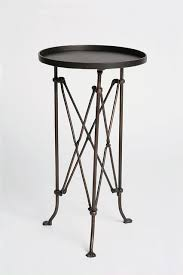 small round outdoor side table small outdoor side table attractive lovable black metal optimum
