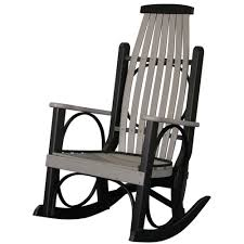 Luxcraft Porch Rocker Amish Yard Amish Poly Grandpa U0027s Porch Rocker