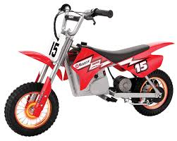 rent motocross bike amazon com razor mx400 dirt rocket with lighted valve stem red