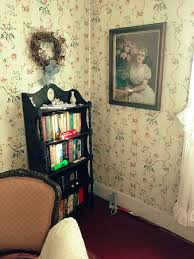 it feels homey nice book selection made the room feel very homey picture of the
