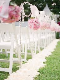 wedding ceremony decoration ideas 69 outdoor wedding aisle decor ideas happywedd