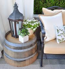 19 things you should put on your front porch whiskey barrel