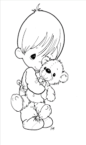 free baby coloring pages free printable precious moments coloring pages for kids