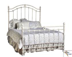 White Metal Headboard Top White Iron Headboard King Iron Beds The American Iron Bed Co