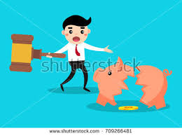 His And Her Piggy Bank Piggy Bank Vector