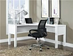 desk monarch hollow core l shaped home office desk white bush