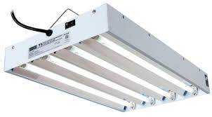 t5 fluorescent grow lights hydrofarm agrobrite fluorescent grow light 2 ft 4 tube fixture t5