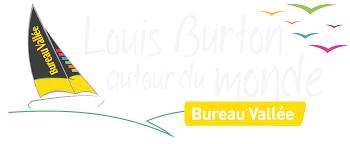 logo bureau vallee louis burton transat jacques vabre 2017 avec bureau vallée en