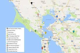 san francisco map for tourist san francisco s popular tourist areas