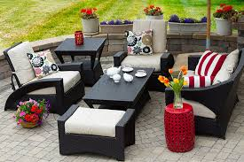 Dark Wicker Patio Furniture by Chicago Wicker Outdoor Patio Furniture Home Design Ideas And