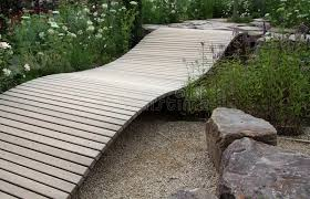 small garden bridge small ornamental garden bridge stock photo image of landscaping