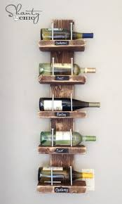 7 diy wine storage racks that you can make easily shelterness