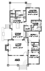 bungalow style house plan 3 beds 2 00 baths 1564 sq ft plan 490 26