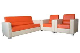 Orange Sofa Bed Caynes Sofa Set Orange Sofa Sets In Hyderabad Sanfurn
