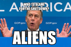 Shutdown Meme - explaining some misconceptions about the shutdown with conservative