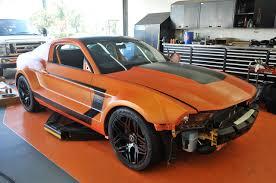widebody mustang galpin auto sports bringing widebody boss mustang to sema stangtv