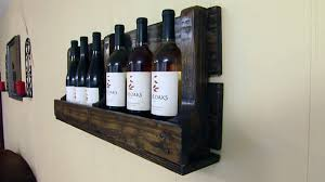 building a wine rack from a wooden pallet today u0027s homeowner