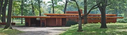 goetsch winckler house okemos michagan 1940 usonian style
