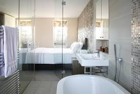 Background Wall Mirror Wall Tiles Contemporary Bedroom by Bedroom Wall Tile Design Houzz