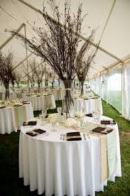 Non Flower Centerpieces For Wedding Tables by 23 Best Wedding Ideas Images On Pinterest Branch Centerpieces