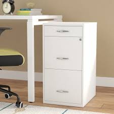 How To Paint A Metal File Cabinet Symple Stuff Steel 3 Drawer Filing Cabinet U0026 Reviews Wayfair