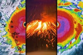 Hit The Floor Quebec - what would happen if a hurricane hit an erupting volcano the