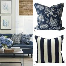 hampton home design ideas blue and white cushion collection hamptons style living rooms