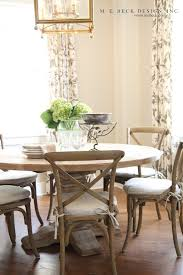 Kitchen Round Tables by Top 25 Best Cottage Dining Rooms Ideas On Pinterest Nautical