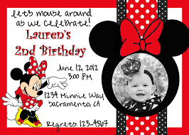 mickey mouse clubhouse birthday invites minnie mouse birthday invitations red birthday party invitations