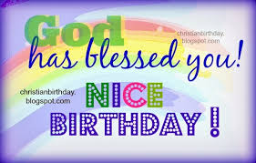 have a very nice birthday god bless you image and wishes