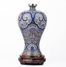 15 vintage cloisonne vase ornament home decoration 100