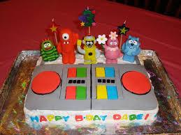 72 kids birthday ideas images yo gabba gabba