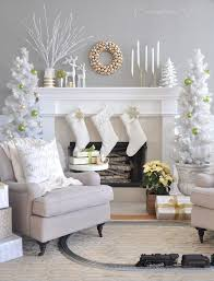 living rooms decorated for christmas 30 cosy christmas living room decorating ideas gravetics