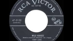 1953 hits archive horses perry como