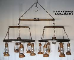 Rustic Bar Lights Ww031 Wagon Wheel Chandelier Light Fixture With Double Trees And