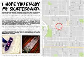 man posts touching note for thief of prized skateboard the epoch