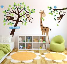 animals and tree wall stickers parkins interiors animals and tree wall stickers
