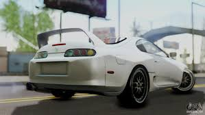 toyota supra fast and furious toyota supra 1998 ff7 for gta san andreas