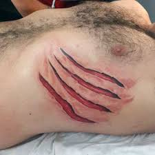 50 ripped skin designs for manly torn flesh ink