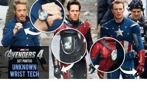 Avengers Meme - 8 avengers marvel studios set photos unknown wrist tech avengers