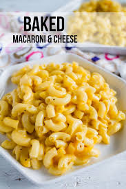 thanksgiving mac and cheese recipe easy baked macaroni and cheese