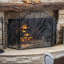 fireplace screens hayneedle